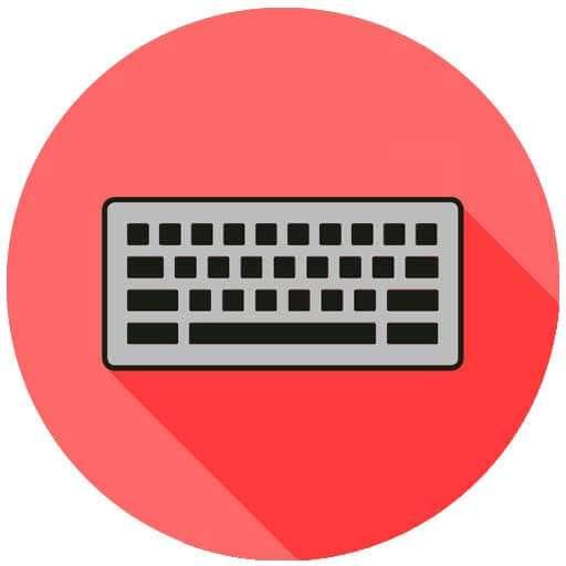 sustitución teclado