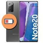 cambiar bateria galaxy note 20